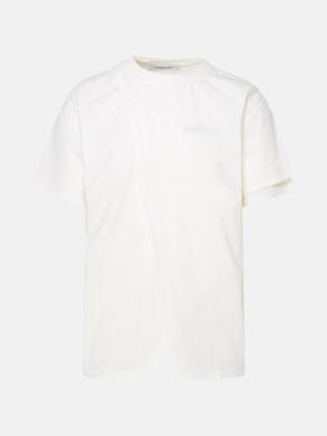 AMBUSH - WHITE OVERLAP T-SHIRT