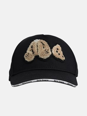 PALM ANGELS - CAPPELLINO PALM ANGELS BEAR NERO
