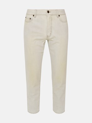 SAINT LAURENT - JEANS CARROT GRIGI