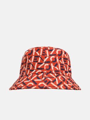 KENZO - ORANGE LOGHI HAT