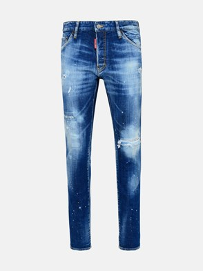 DSQUARED2 - JEANS COOL GUY IN COTONE BLU