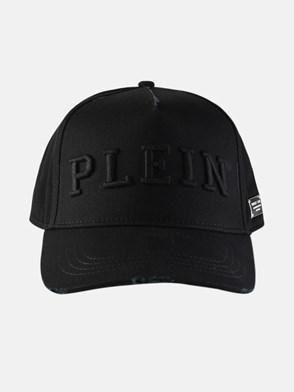 PHILIPP PLEIN - CAPPELLINO LOGO NERO