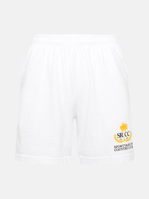 SPORTY & RICH - SHORT COUNTRY BIANCO