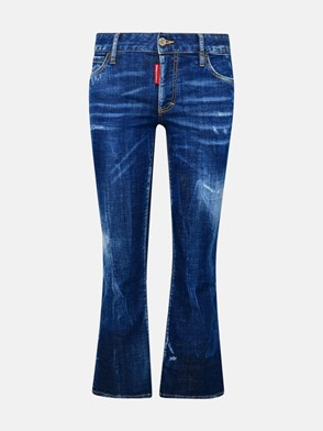 DSQUARED2 - JEANS BELL BOTTOM BLU