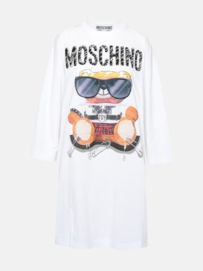 MOSCHINO - VESTITO ORSO BIANCO