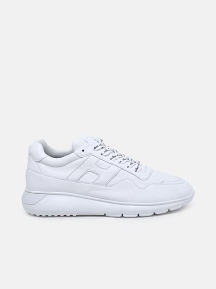 hogan SNEAKER INTERACTIVE 3 IN PELLE BIANCA available on www ...