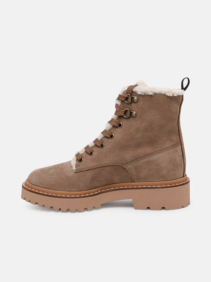 hogan ANFIBIO H578 IN SUEDE MARRONE available on www ...