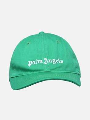 PALM ANGELS - CAPPELLO BASEBALL VERDE