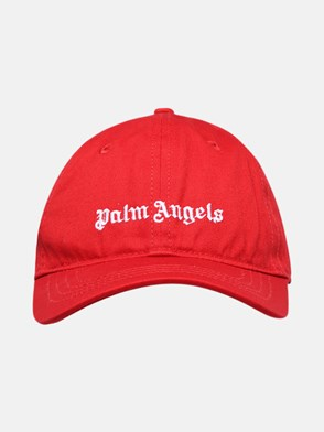 PALM ANGELS - CAPPELLO BASEBALL ROSSO