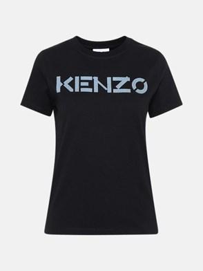 KENZO - T-SHIRT IN COTONE NERA