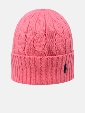POLO RALPH LAUREN - PINK COTTON HAT