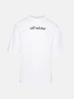 OFF-WHITE - T-SHIRT BIANCA IN COTONE