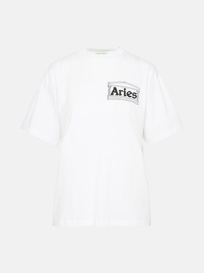 ARIES - T-SHIRT TEMPLE SS TEE IN JERSEY DI COTONE