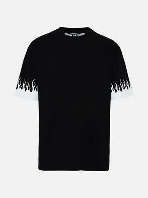 VISION OF SUPER - T-SHIRT IN COTONE NERA
