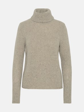 360 CASHMERE - DOLCEVITA CLEMENCE IN CASHMERE FUMO