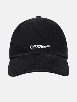 OFF-WHITE - CAPPELLINO BOOKISH OW IN COTONE NERO