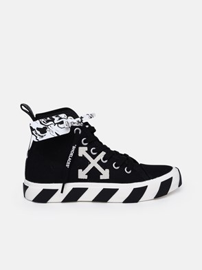OFF-WHITE - SNEAKER MID TOP NERA