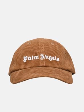 PALM ANGELS - CAPPELLO LOGO MARRONE